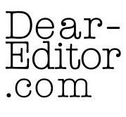 Dear Editor Twitter logo 2