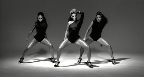 Beyonce single ladies shot