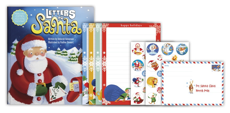 Letters to Santa with letter paper