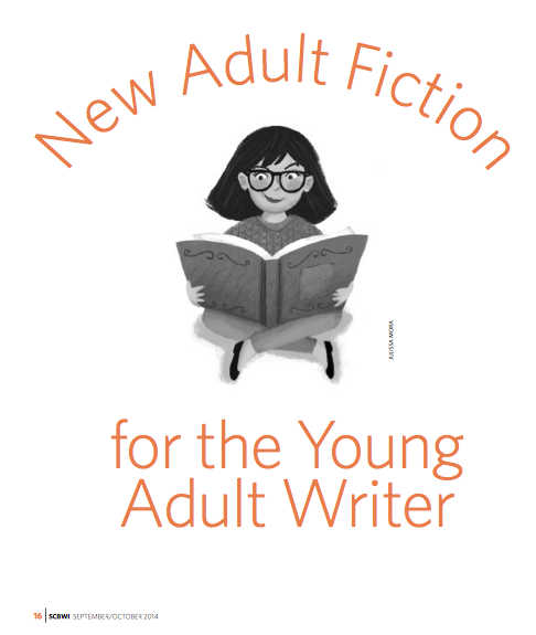 SCBWI article title page