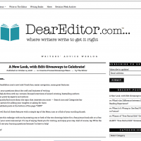 New Look for DearEditor.com